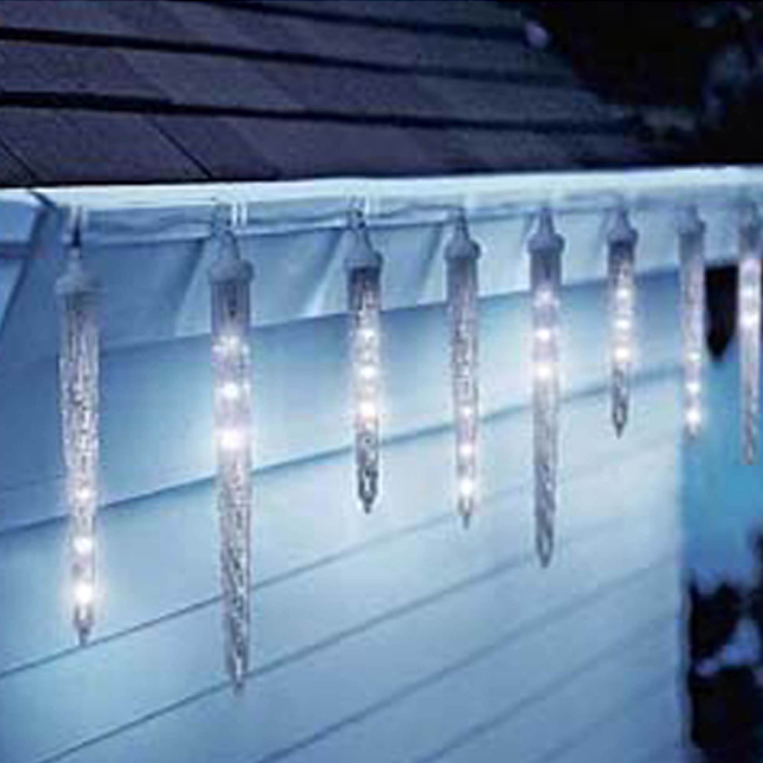 Led Dripping Icicle Christmas Lights