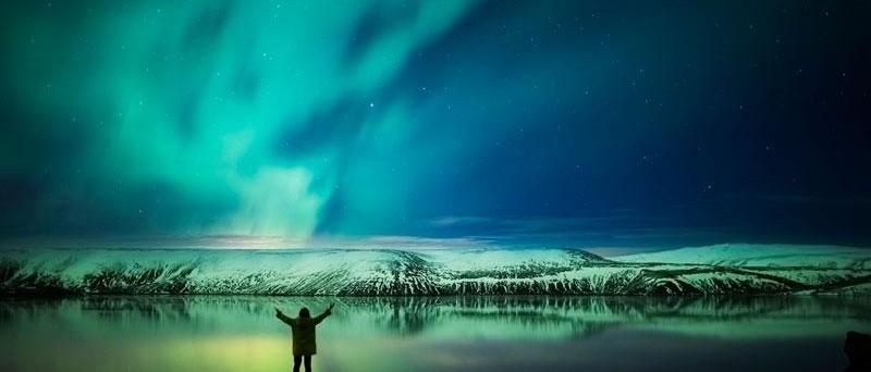 Destinasi wisata dunia: Islandia.