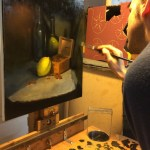 Sight size still life painting at Northern Realist