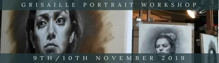 Link to Northern Realist Grisaille Portrait Workshop webpage