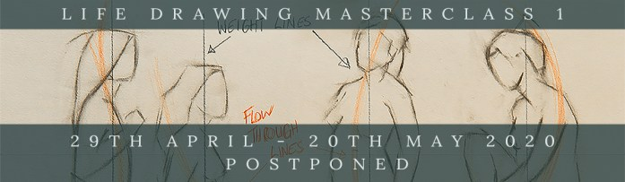 Link to Northern Realist Life Drawing Masterclass 1 webpage