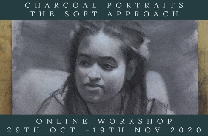 Link to Northern Realist Charcoal Portraits - Sort Approach Online Course page