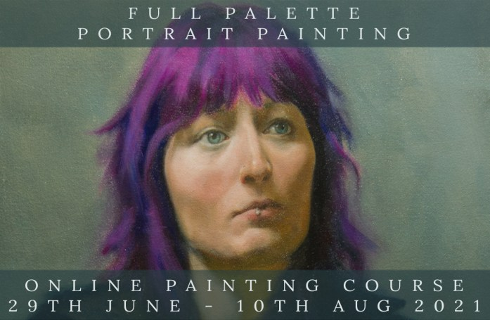 Link to Northern Realist Full Palette Portrait Painting Course July 2021