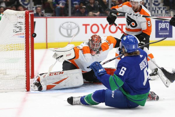 Pearson nets shootout winner as Canucks clip Flyers 3-2 - Kitimat Northern Sentinel