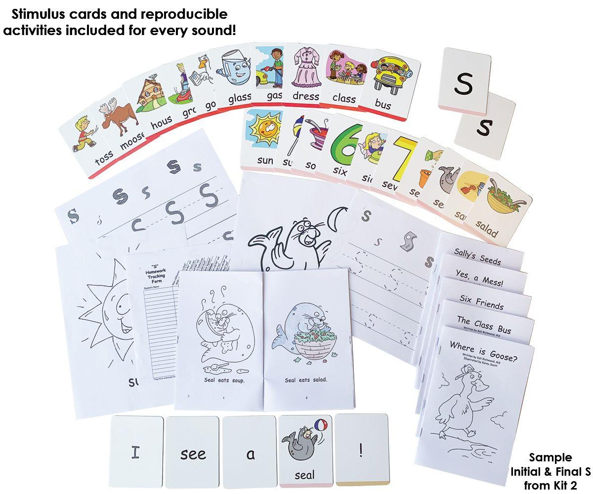 Literacy Speaks 5 Kit Complete Set