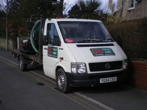 GS Toilet Hire Work Vehicle
