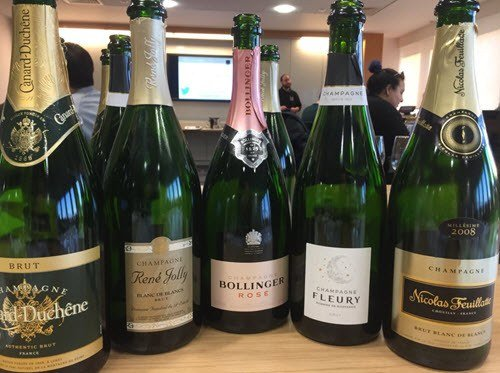Champagne Selection-a Fine Choice!