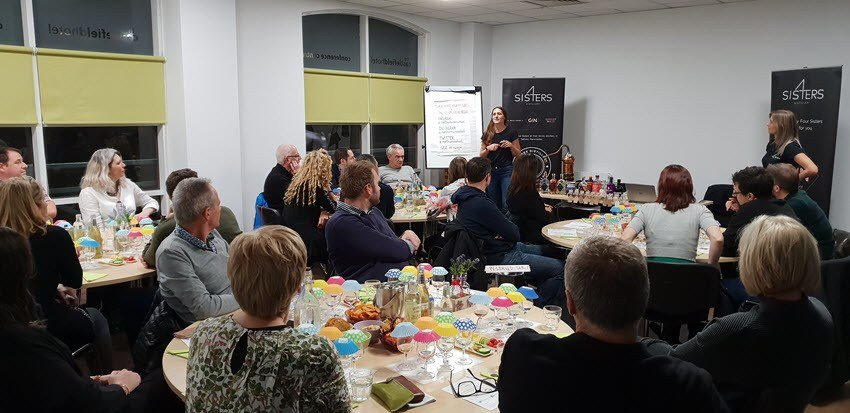 4 Sisters Gin Manchester Telling their Story