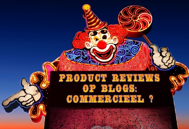 Product reviews op blogs: Commercieel?