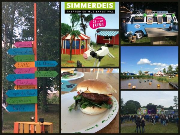 collage simmerdeis drachten festival slingepark 2015