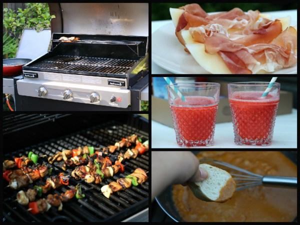 collage barbecue northflix