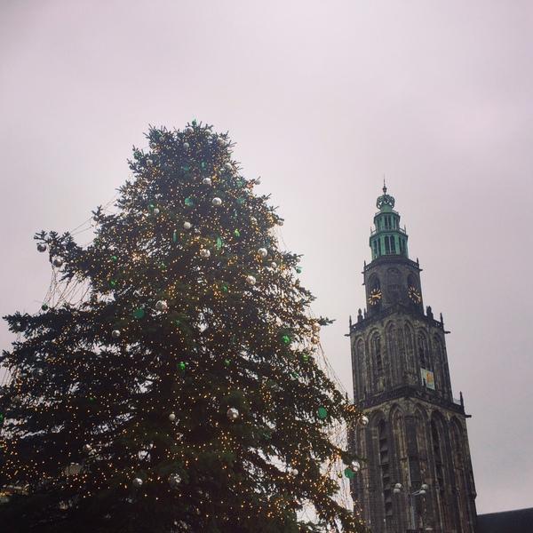 kerstboom_grote_markt_groningen_martinitoren
