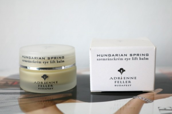 Review Adrienne Feller Hungarian Spring Eye Lift Balm 5