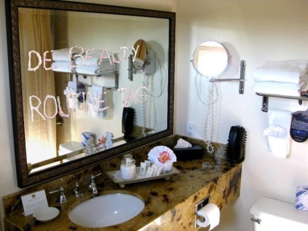de beauty routine tag blogger