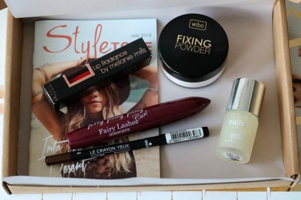 review unboxing inhoud styletone box juli 2016 wibo fixing powder 23