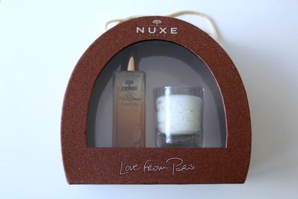 review nuxe parfum prodigieux