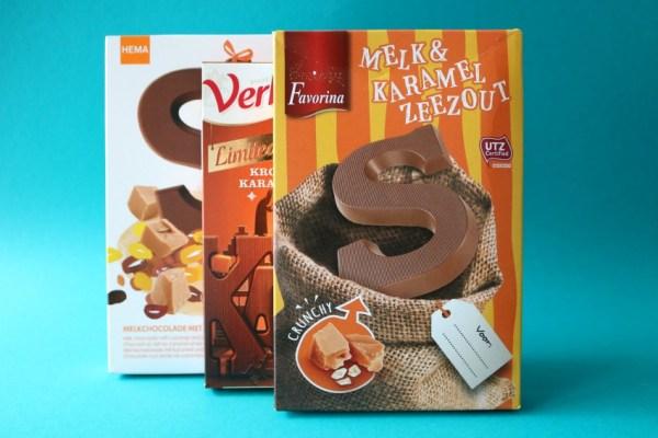 karamel-en-zeezout-chocoladeletter-lidl-favorina-lekker-review