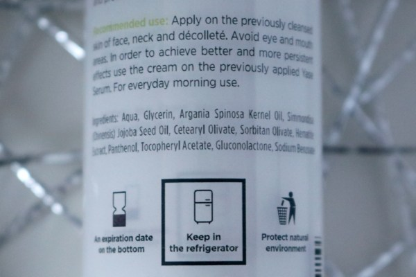 review-ervaringen-yase-cosmetics-daycream-dagcreme-ingredienten