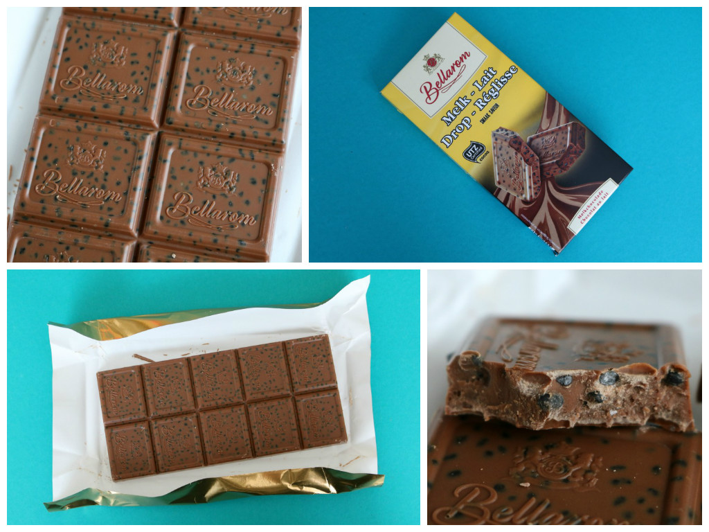 Review/smaaktest: Melkchocolade met stukjes drop van Lidl