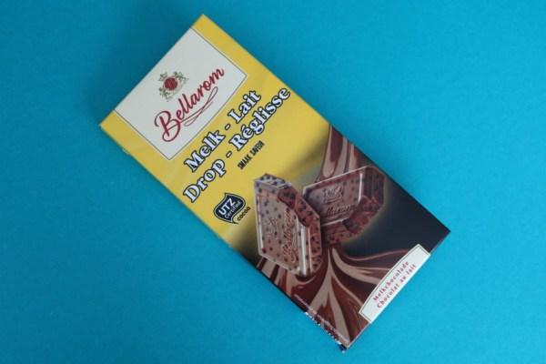 lidl melk drop chocolade bellarom chocolade met drop lidl
