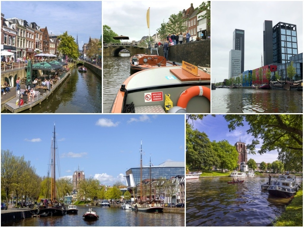 Uitstapje: Praamvaren over de grachten van Leeuwarden