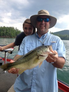 Lake Nottely guide trip