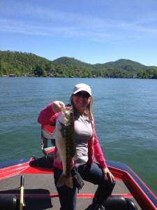 Lake Burton guide trip
