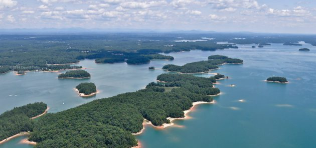 Lake lanier welch 39 s guide service for Lake lanier fishing spots