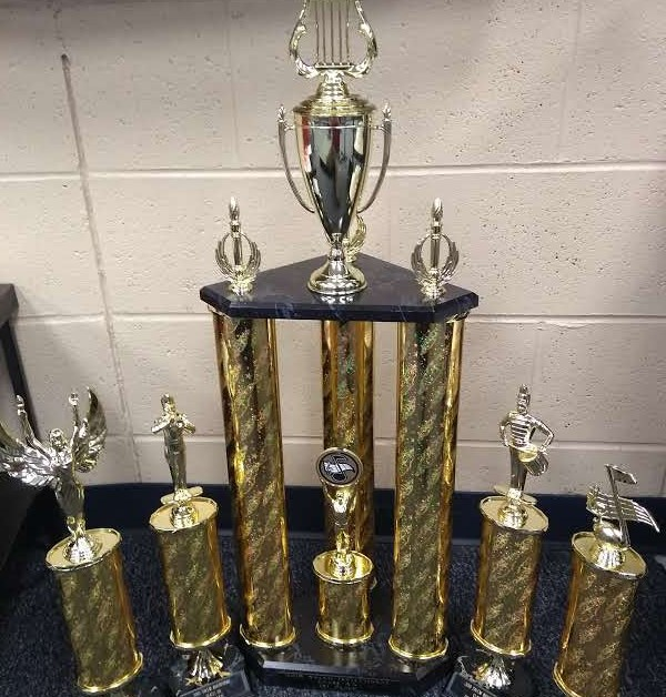 Marching Cougars find success at first competition