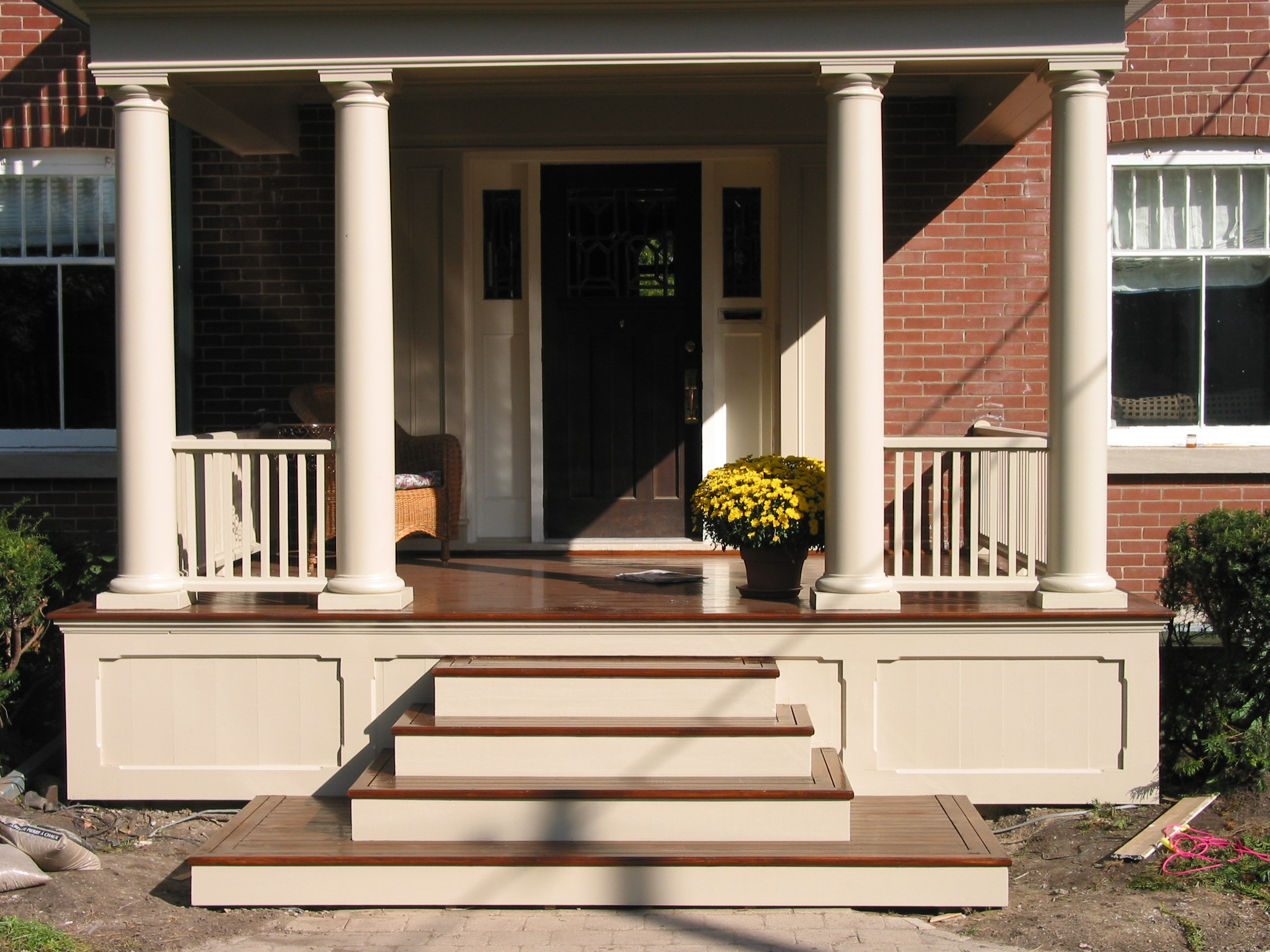 Knoxville Columns North Knox Siding And Windows | Front House Stairs Design