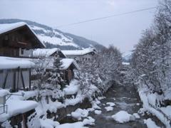 River through Kirchberg