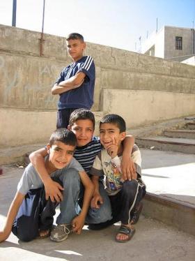 Boys in Amman