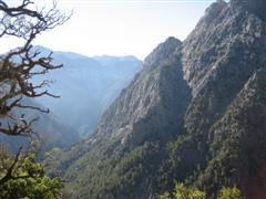 Top of Samaria Gorge