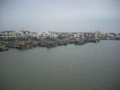 Old-style Chinese boats