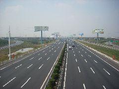 Empty expressway