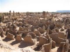 Garamantian mud ruins