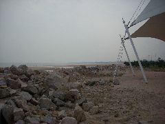 Huangdao beach