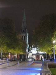 Christchurch Cathedral at night