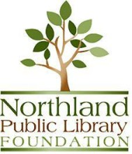Northland Public Library Foundation logo with tree