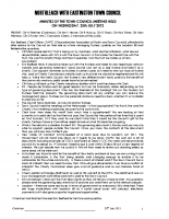 Full Council Minutes 25 July 2012