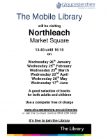 The Mobile Library – Northleach – Jan-June 15