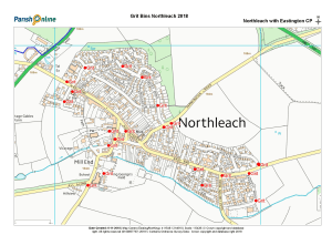 Grit bin location map 2018