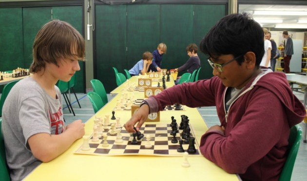 Young Norfolk chess players do battle on the boards at Sheringham