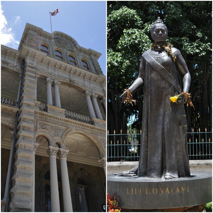 Iolani Palace Liliuokalani
