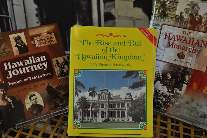 Iolani Palace gift shop books