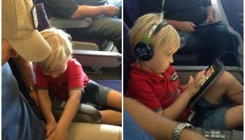 A Successful Flight Minus The Swearing