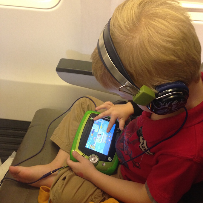 Leap Pad airplane