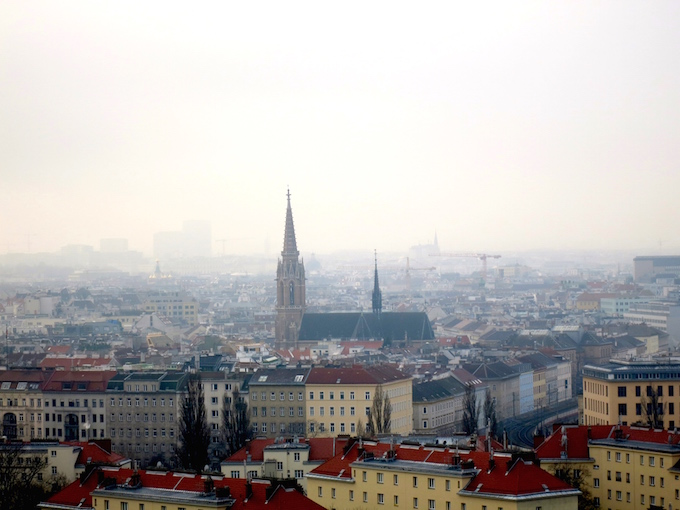 Vienna Cathedral View
