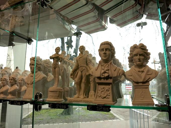 Vienna Gift Shop Statues