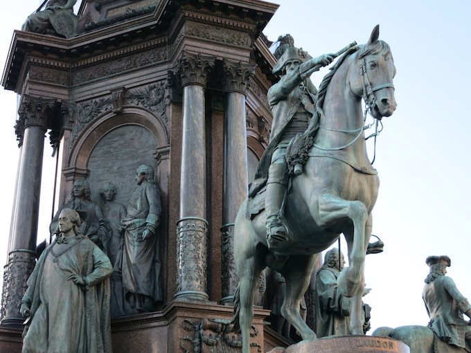 Vienna Statues Horses